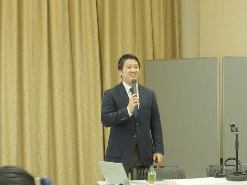 講師の箱島健人氏